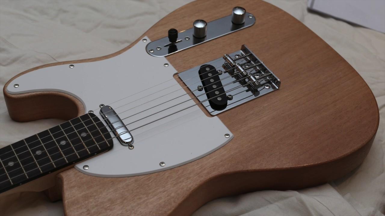 harley benton t style guitar kit build part 2 testing. Black Bedroom Furniture Sets. Home Design Ideas