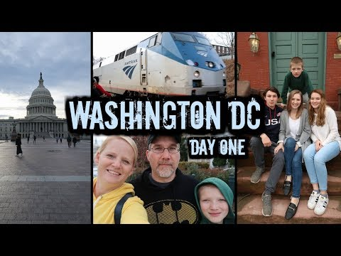 WASHINGTON DC DAY 1 // VLOG