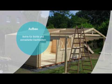 Gartenhaus Norwegen Vom Onlineprofi Finn Art Blockhaus Youtube