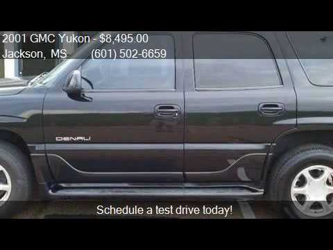 2001 GMC Yukon Denali AWD 4dr SUV for sale in Jackson, MS 39