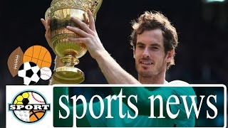 Emotional Andy Murray Breaks Down Into Tears After Winning Wimbledon