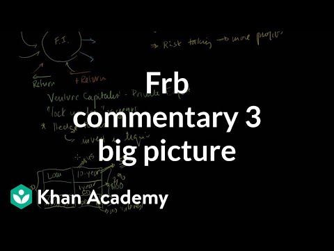 FRB Commentary 3: Big Picture