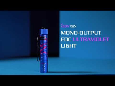 Senter Ultraviolet i5UV EOS 365nm Flashlight LED