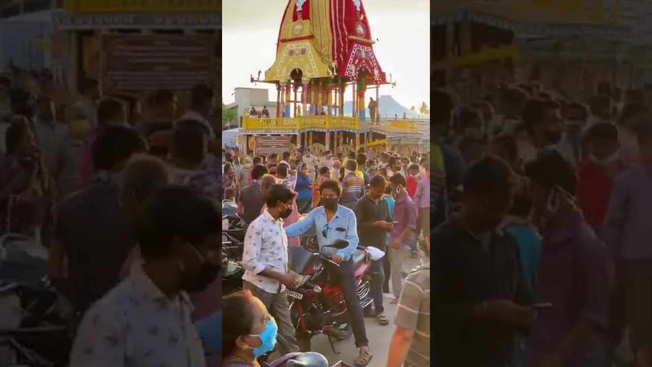 #Rath Going Settle down on gate of Lord Jagannath Temple-Ratha Jatra 2020 | जगन्नाथ की रथ यात्रा