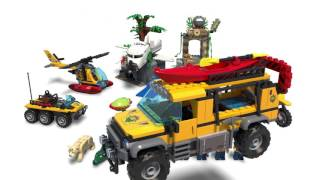 Jungle Exploration Site - LEGO City - 60161 - Product Animation