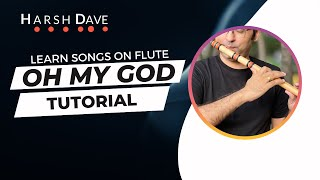 Learn to play OMG flute theme