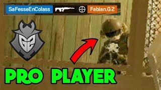 New Glaz Buff against a Pro Player - Rainbow Six Siege Gameplay