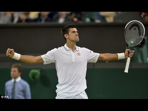 Novak Djokovic VS Jo-Wilfried Tsonga Highlight 2014 (Wimbledon) R4