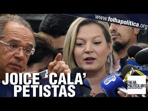 Joice Hasselmann 'cala' petistas sobre a Previdência e apoia Paulo Guedes - Gov. Bolsonaro