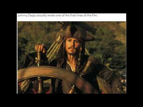 10 things you didn t know about pirates of the caribbean youtube