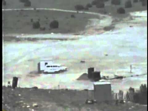 2000 LBS  ANFO AMMONIUM NITRATE EXPLOSIVES TRUCK BOMB TEST SHOT www keepvid com