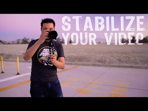 How to Stabilize SHAKY VIDEO Footage in 1 CLICK!