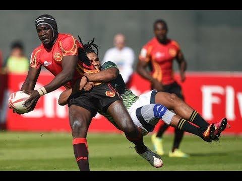 VICTORIA FALLS SEVENS 2018 Goshawks vs Uganda