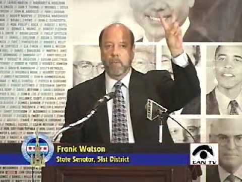 Hon. Frank Watson, Illinois Senate Republican Leader, State Senator, 51st District