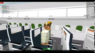Roblox- Aegean airlines A319 flight