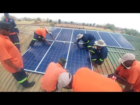 Renewable energy project Malawi 2017