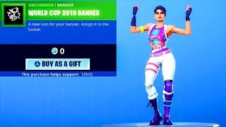 Fortnite NEW! *FREE* COSMETIC + WORLD WARRIOR SKIN/EMOTE..! (ITEM SHOP) Fortnite Battle Royale
