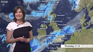 Helen Willetts - BBC Weather - (19/09/2018) - HD