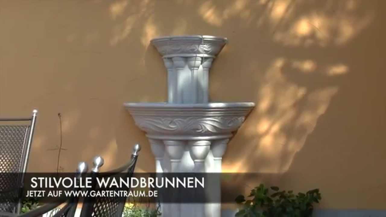 stein wandbrunnen historisch - elton hall - youtube, Garten und Bauen