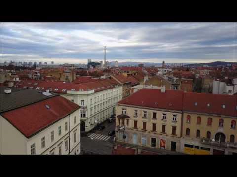 Zagreb in 4k - DJI Mavic Pro