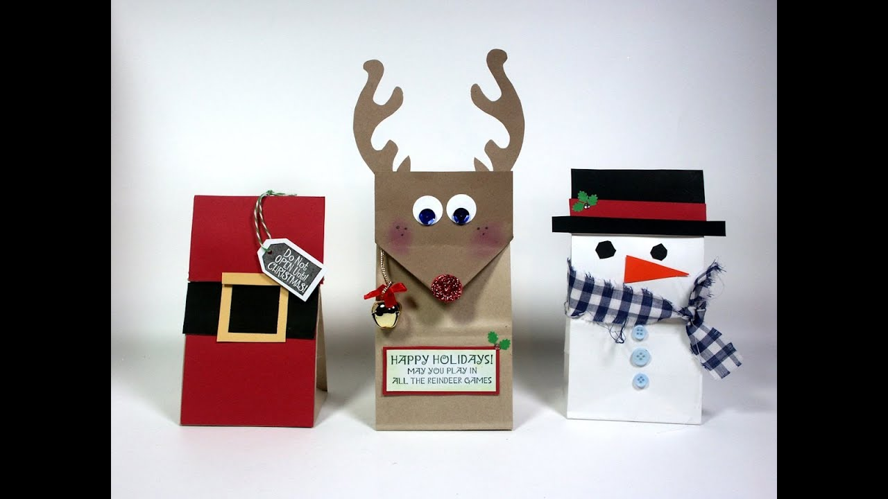 Ideas small christmas gift bags