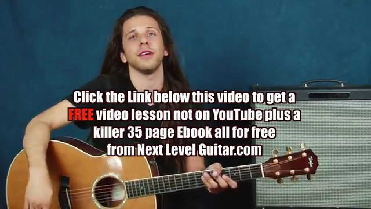 Guitar Lesson Learn Black Crowes Inspired Chord Ideas Open String