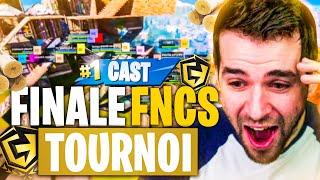 FNCS FINAL 800k$🔥Je Cast les 100 Meilleurs Joueurs Fortnite Solo, le Niveau est FOU = Coupe d'Europe