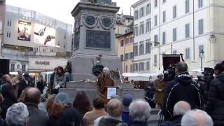Giuliano Montaldo celebra Giordano Bruno