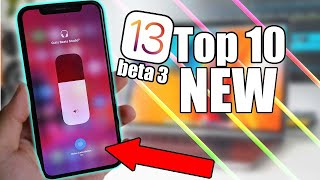 10 Best NEW Features and Improvements - iOS 13 beta 3