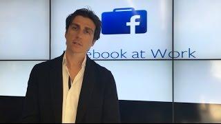 Facebook At Work: Julien Codorniou Explains