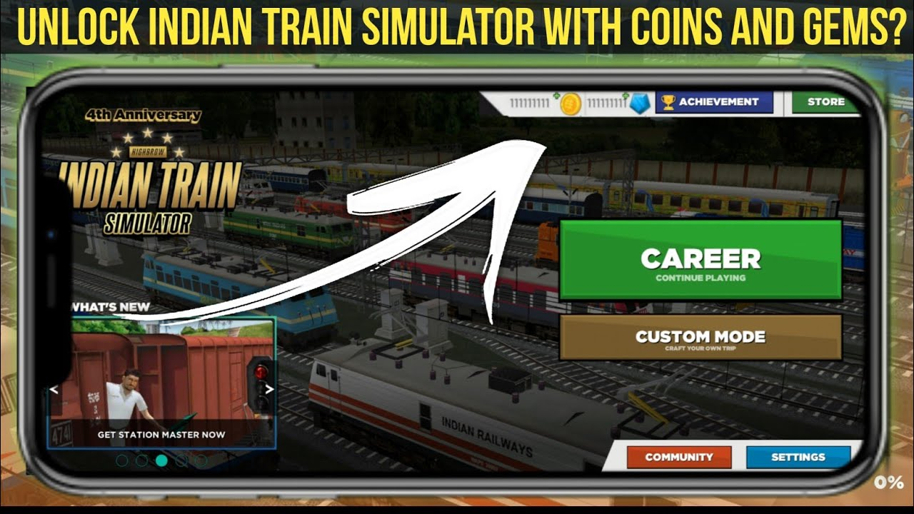 Unlimited Coins And Gems In Indian Train Simulator | MOD Apk