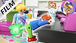Film Playmobil en français - Maladie du pet chez JULIAN & EMMA! Série pour enfants Famille Brie