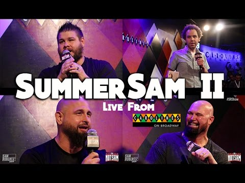 Kevin Owens, Luke Gallows, & Karl Anderson LIVE with Sam Roberts in NYC