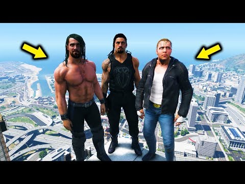 GTA 5 WWE EXTREME MOMENTS COMPILATION #4 SETH ROLLINS (GTA V WWE Mods)
