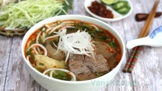 How To Make Bun Bo Hue (vietnamese Spicy Beef Noodle Soup)