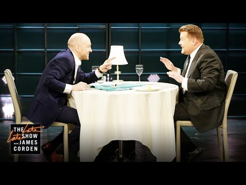 Derren Brown Has James Eat Glass
