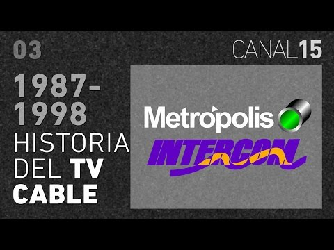 Canal 15 #03: Los primeros años del TV Cable en Chile