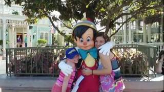 Pinocchio in Walt Disney World Magic Kingdom