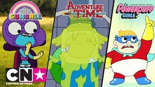 Gumball + Pora na przygodę! + Atomówki   Superbohaterowie!   Cartoon Network