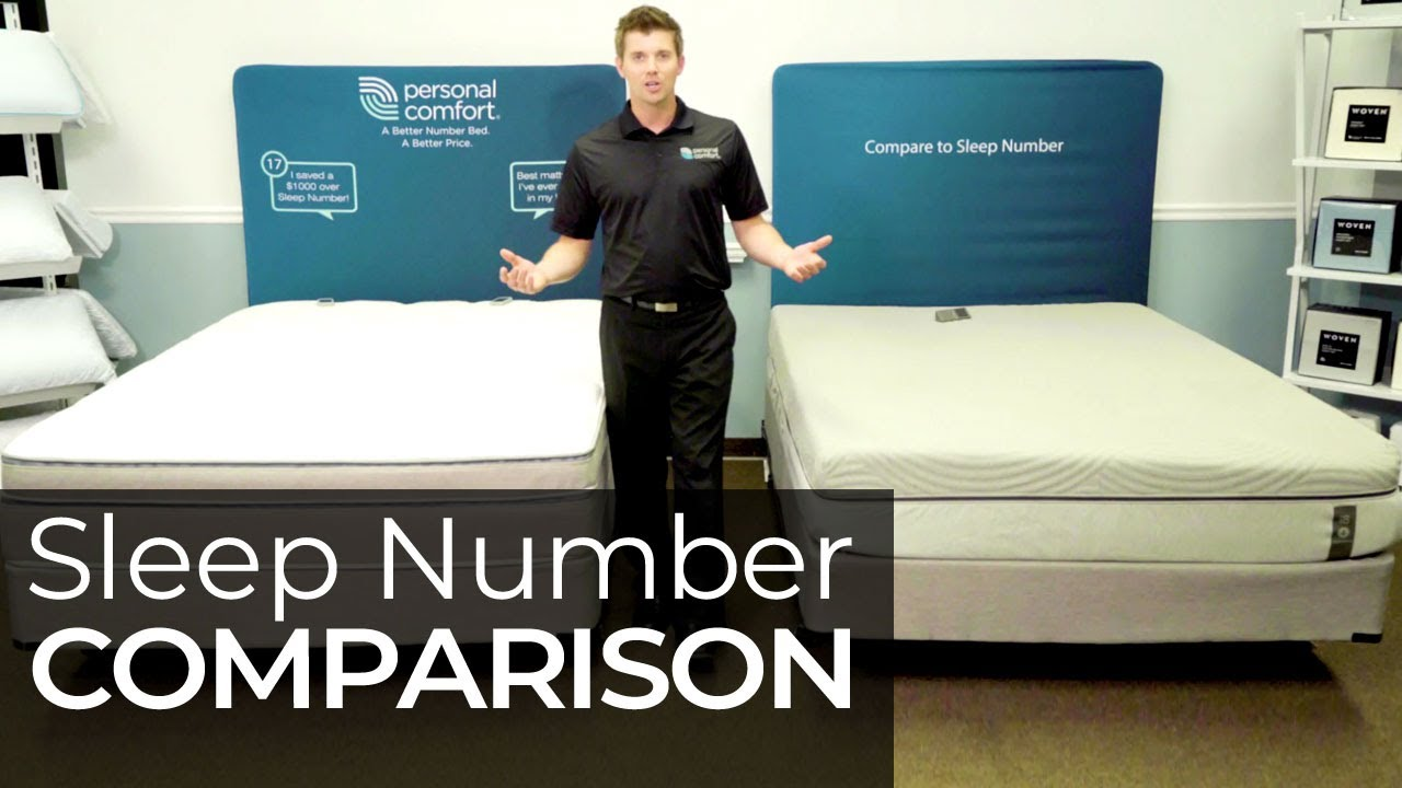 Sleep Number I8 360 Vs Personal Comfort A8 Number Bed Comparison