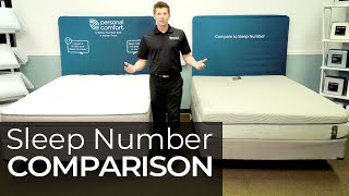 Sleep Number I8 360 Vs Personal Comfort A8 - Number Bed Comparison