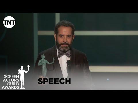 Tony Shalhoub: Award Acceptance Speech | 26th Annual SAG Awards | TNT