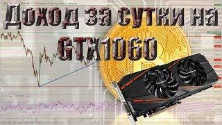Сколько можно намайнить на GTX 1060 биткоинов за день. Gigabyte GeForce® GTX 1060, GV-N1060G1