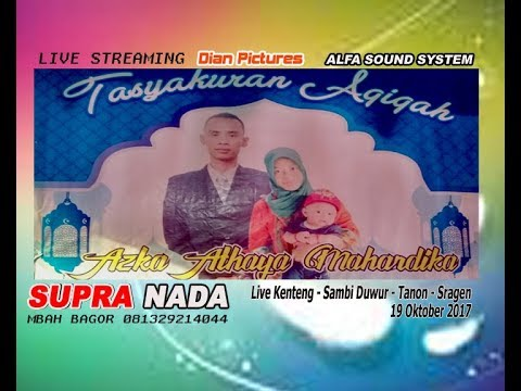 LIVE STREAMING CS.SUPRA NADA//DIAN PICTURES/ALFA  SOUND SYSTEM