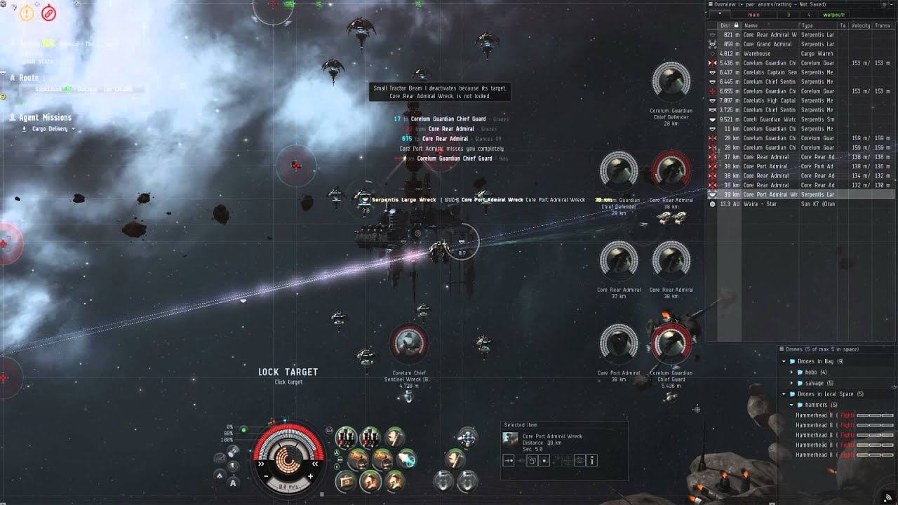 Eve Online Cargo Delivery Level 4