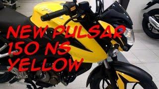Video Pulsar 150 NS New Motorcycle yellow download MP3, 3GP, MP4, WEBM, AVI, FLV Agustus 2018