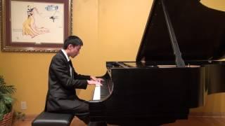 Bennett Zhu Performing Debussy - Reflets dans l