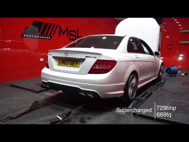 supercharged c63 !