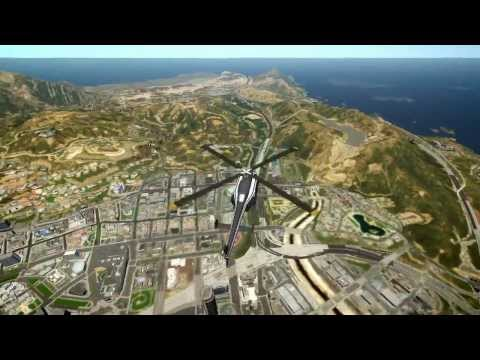 Grand Theft Auto IV - GTA 5 Map LOD Converted To IV (MOD) HD
