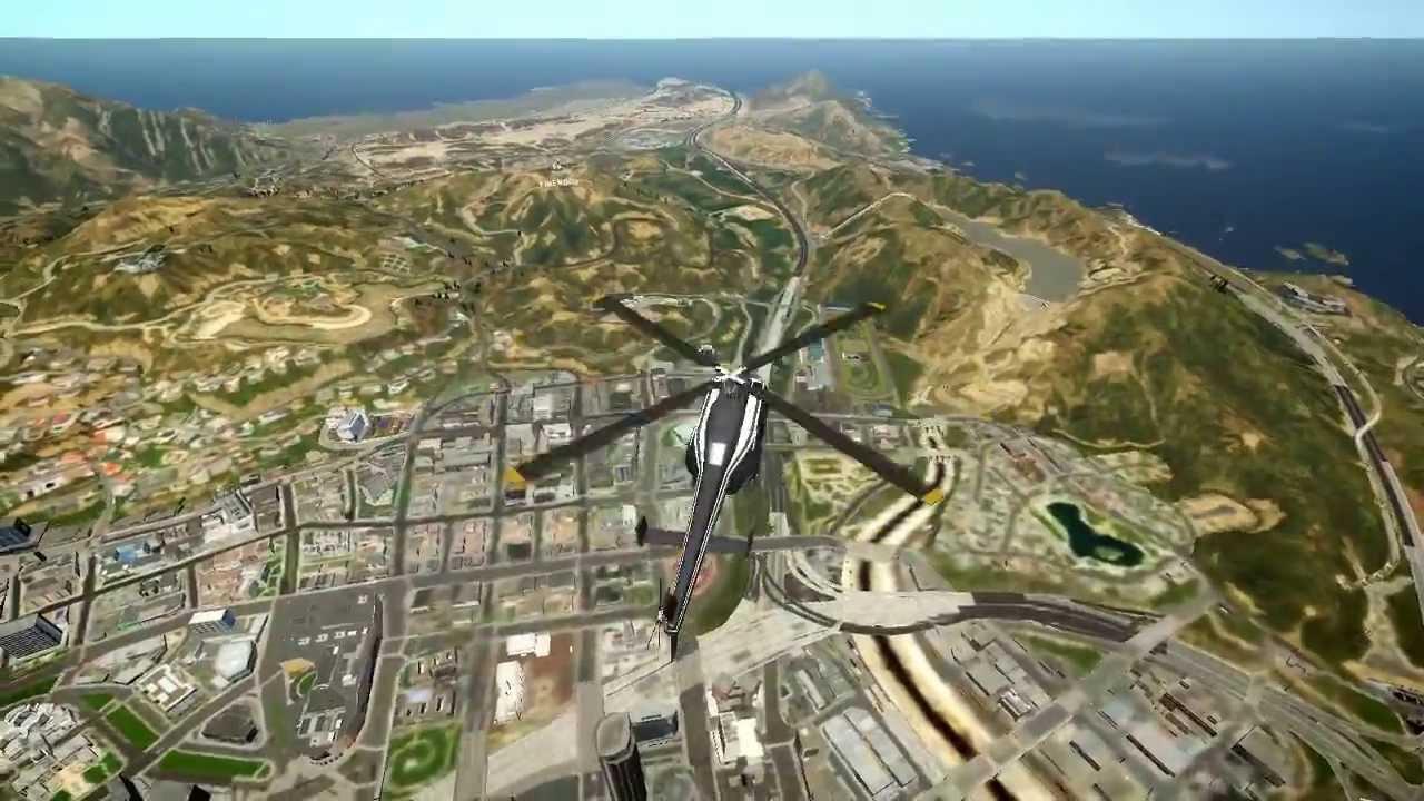 Map grand theft auto v - Map Grand Theft Auto V 47